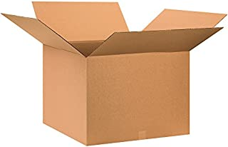 """product image for Partners Brand P282820 Corrugated Boxes, 28""""L x 28""""W x 20""""H, Kraft (Pack of 10)"""
