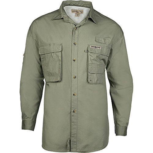 Hook & Tackle® Men's Gulfstream Long Sleeve Shirt (X-Large, Sage)