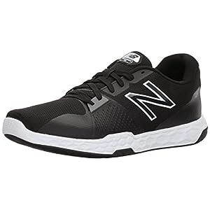 New Balance Men's 713v3 Fresh Foam Training Shoe, Black, 10 D US