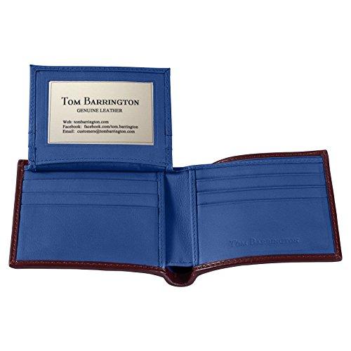 Fold Stingray Card Holder Brown Slots Credit ID 9 Wallet Blue Brown Bi w 4FEnqFRwC
