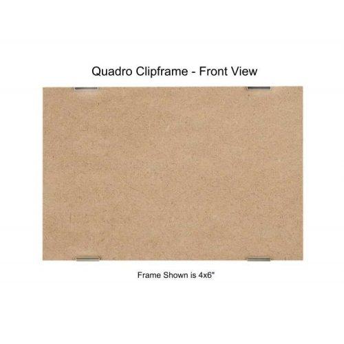 (Quadro Clip Frame 4x6 inch Borderless Frame, Box of 12)