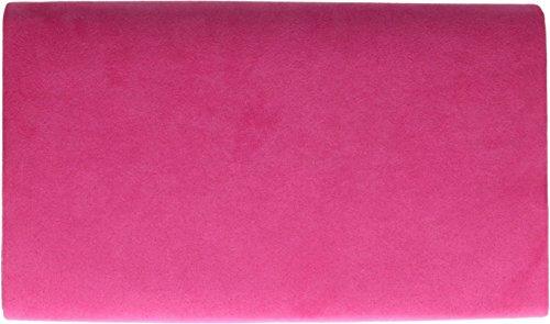 Fuchsia enveloppe ivoire métallique femme 1515 en H G suédine pour Ecru Motif Uni Pochette amp; Cadre n00qAwpZ8