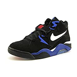 Nike Air Force 180 Men Us 13 Black Basketball Shoe