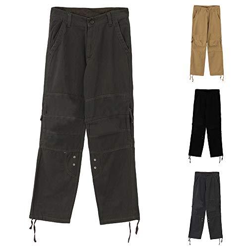 Ropa Hombres para Hombres Tag Size Gris Deportivos para Deportivos Aire Correr Trabajo 31 Cremallera Estampación Recta 32 Cebbay Pantalones para Casuales Libre al Casuales de EU Pantalones t4wxgIEqU
