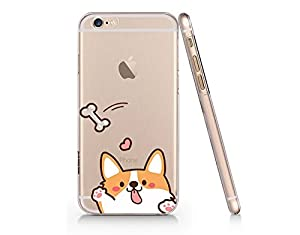Amazon.com: Cute Corgi Dog Slim Transparent Iphone 6 6s
