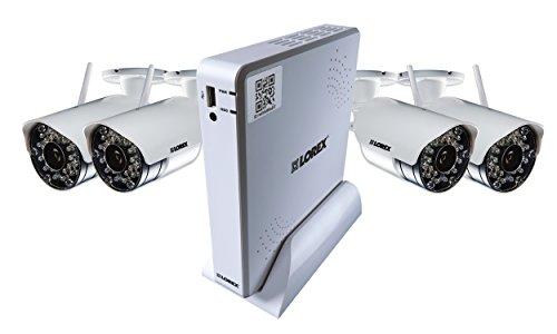 24. Lorex LH04045GC4W 500GB DVR 4 x Wireless Indoor/Outdoor Security Camera System