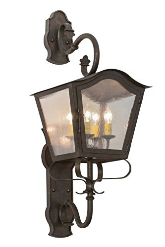 Meyda Tiffany 153482 - 12'' W Christian Lantern Wall Sconce. Custom Crafted In Yorkville - New York Please Allow 30 Days by Meyda