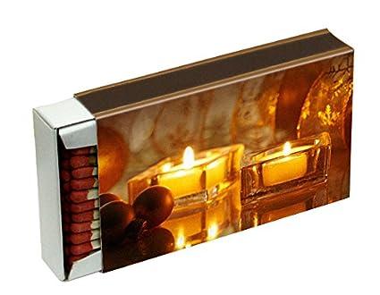 10 cajas a 50 cerillas para barbacoas, chimenea y velas Camino 10 cm (caja de cerillas 500) diseño de velas KM Match: Amazon.es: Hogar