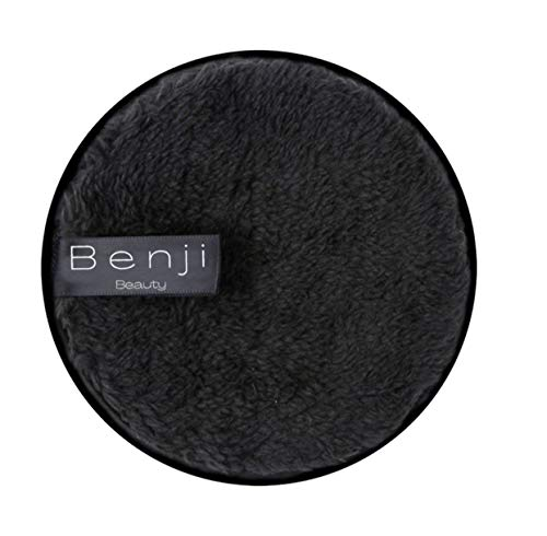 Skin Glow l Reusable Makeup Remover Pads, Round Makeup Remover Pads for Heavy Makeup, Masks, Body Scrubs & Self Tanners – Microfiber Makeup Remover Wipes for Mascara, Eye Shadow, Foundation (2 pack)