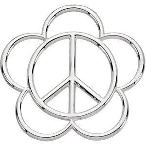 Signe de la paix Pendentif