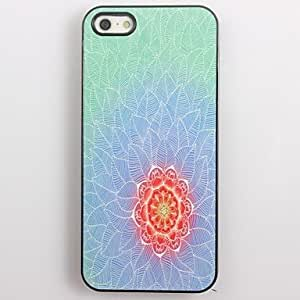 DD Pretty Lotus Pattern Aluminum Hard Case for iPhone 5/5S