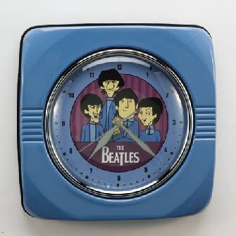 The Beatles Animated Vintage Metal Wall Clock