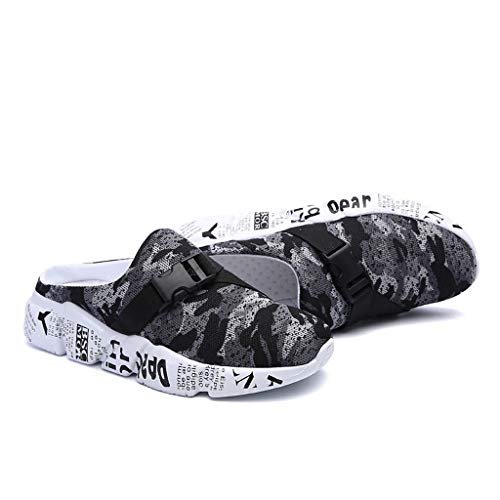 zitan Men Outdoor Hiking Sandals Breathable Athletic Climbing Summer Beach Shoes Mens Closed Toe Sport Sandal