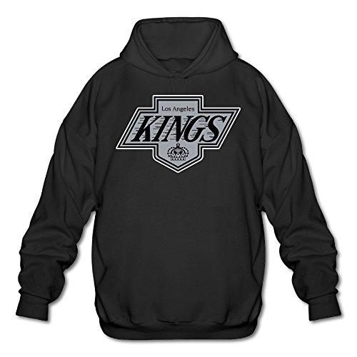 Price comparison product image AUSIN Men's LA Sport Team Kings Hoodies Black Size S