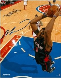 Andre-Drummond-Autographed-Detroit-Pistons-16x20-Photo-1-Motor-City-Slam-Dunk