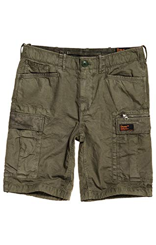 Cargo Superdry Short Parachute Verdesage P2d Ripstop WH9Ib2YeED