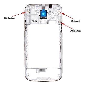 bislinks� new samsung galaxy s4 mini i9195 i9190 mid frame chassis housing  bezel