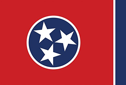 tennessee state flag decorative usa