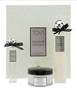 Tova Signature Platinum 3-Piece Gift Set - (Eau de Parfum, Body Souffle & Bath Cream)