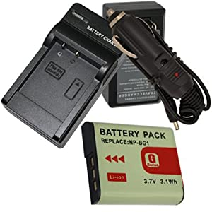 Amazon Com Battery Charger For Sony Cybershot Dsc Hx5