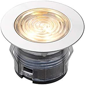 Ikonpro Cct 45Mm Kit Ip67 0.75W Outdoor Recessed Light Polished Stainless Steel