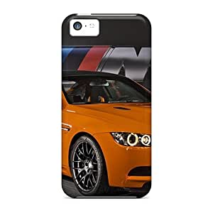 Iphone 5c Case Cover - Slim Fit Tpu Protector Shock Absorbent Case (2011 Bmw M3 Gts)