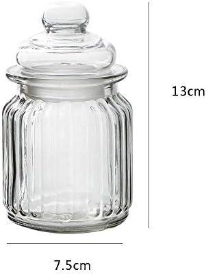 t/é Sal de az/úcar Especias BESTONZON caf/é Tarro de Cristal con Tapa herm/ética Transparente para Guardar Alimentos 5 Unidades