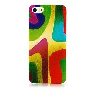 Modelo colorido suave de la caja del silicón para iPhone5/5S