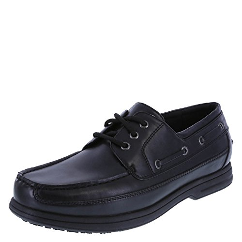 Bedford Boat safeTstep Black Slip Men's Resistant Oxford tww64ZPq