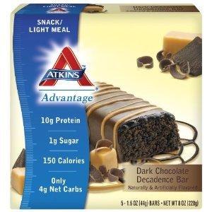 Atkins Advanced Dark Chocolate Decadence Bars
