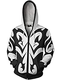 amazon 4xl costumes cosplay apparel men clothing shoes Punk Costumes Women kingdom hearts jacket sora aqua hoodie adult halloween costume unisex sweatshirt hoodies plus size