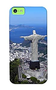 Durable Protector Case Cover With Christ The Redeemer Hot Design For Iphone 4/4s (ideal Gift For Lovers)