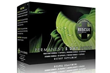 Amazon com: Rescue Detox Permanent 5 Day Detox by Applied Sciences