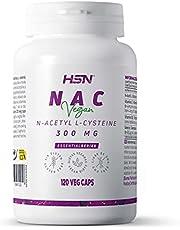 HSN NAC | 300 mg | N-Acetyl-L-Cysteine | Verhoogt het Glutathion niveau + Hoog Anti-oxidant vermogen + Versterkt uw afweersysteem | Non-GMO, Veganistisch, Lactose-vrij, Gluten-vrij | 120 Veggie Caps