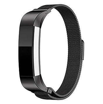 vicara Fitbit Alta Montre bande Milanaise Boucle Sangle Montre en acier inoxydable avec Unique poignet magnétique