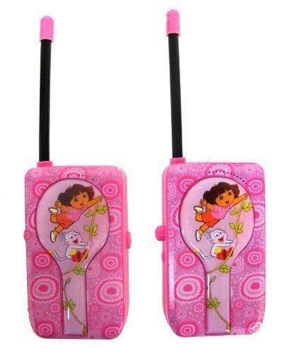 Walkie Talkie Dora - Stkertools(TM) Walkie Talkie 13067 Nickelodeon Dora The Explorer, New