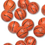 Chocolate Foil Basketballs - 1 lb
