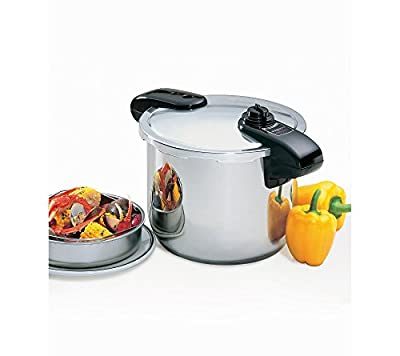 Presto Pro 8-qt. Stainless Steel Pressure Cooker