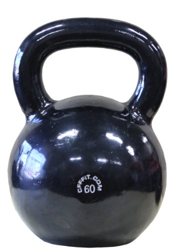 CFF Monster Russian Kettlebell with Lifetime Warranty, 60kgs/132lbs