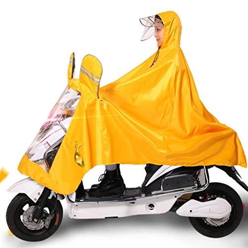 Raincoat Capuche À Pluie Imperméable Poncho Adulte 4 Unie Mode Extérieur Electric Outdoor Cars Huixin Couleur Épaisse Sd1qBS