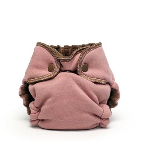 EcoPosh Recycled Organic Fitted Pocket Diaper, Love, Newborn Kanga Care EPNF002