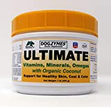 Product review for Dogzymes Ultimate for Best Skin/Coat with Organic Coconut for Pets, 1-Pound