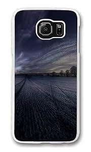 Farm Polycarbonate Hard Case Cover for Samsung S6/Samsung Galaxy S6 Transparent