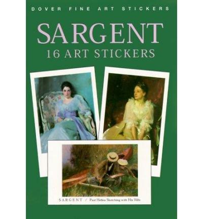 Sargent: 16 Art Stickers (Fine Art Stickers) (Paperback) - Common