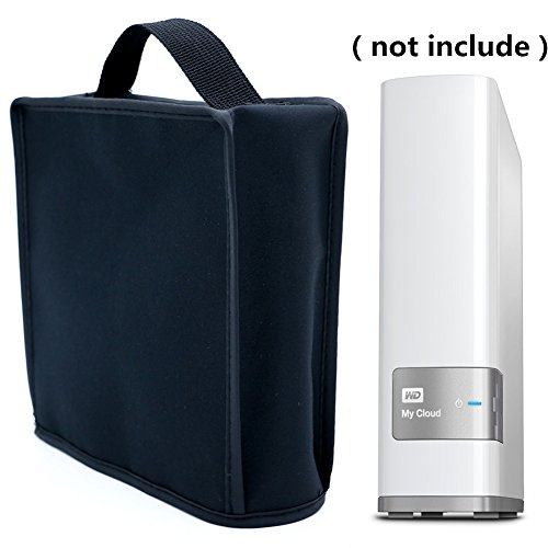 Orchidtent Heavy Duty Heat-Resistant Waterproof Dustproof Dust Cover For WD 4 TB My Cloud Personal Network Attached Storage Single Drive(for 2-8 TB) by Orchidtent