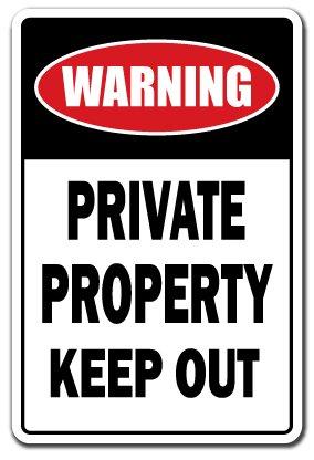 Propiedad Privada Mantener fuera señal de prohibido aparcar ...