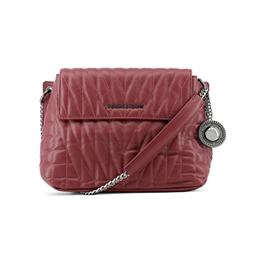 Designer Versace Cross £249 Bag Genuine Jeans Bag Body 00 Crossbody Women Red RRP qH0r1H