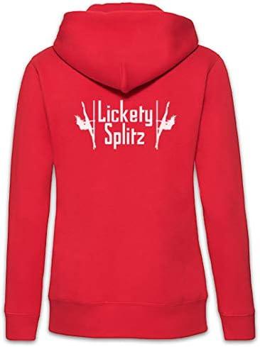 Urban Backwoods Lickety Splitz Femme Zip Hoodie Sweat à Capuche