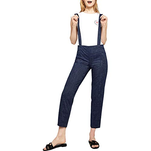 BCBGeneration Women's Pleat Front Trousers Dark Navy Combo 0 from BCBGeneration
