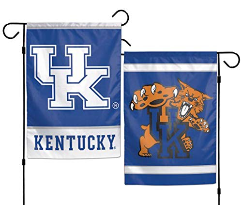 Wincraft NCAA Kentucky Wildcats Garden Flag 12x18, 2 Sided, Team Color